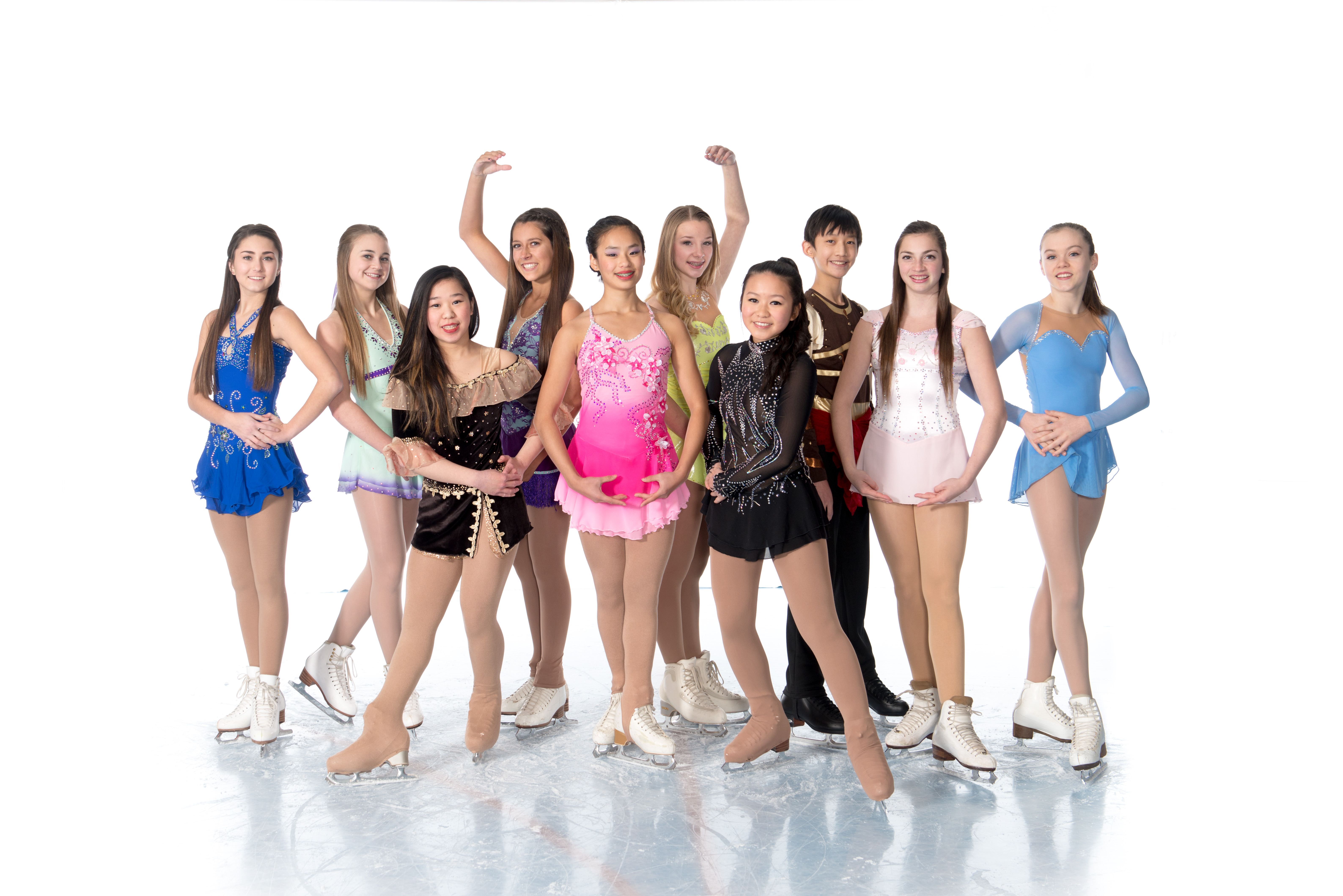 2015 Competitive Skaters